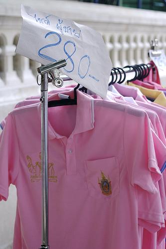 Наука о цветах тайских футболок